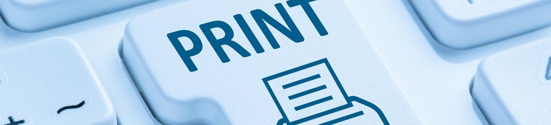 Print button picture