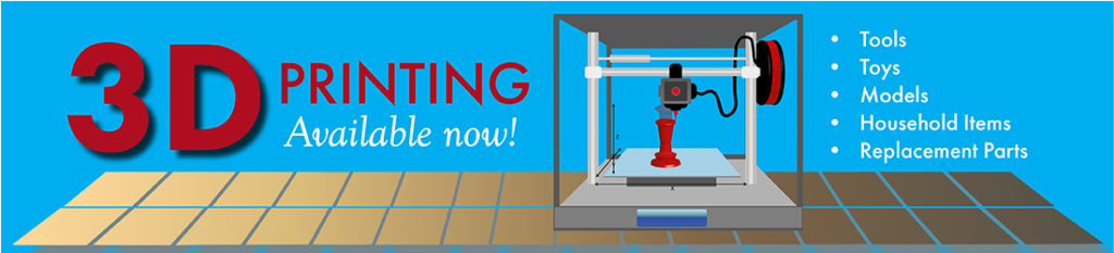 3D-Printer Available NOW!