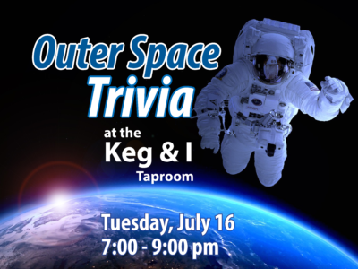 Outer Space Trivia at the Keg & I Taproom