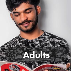 Fun for Adults (Man Reading)